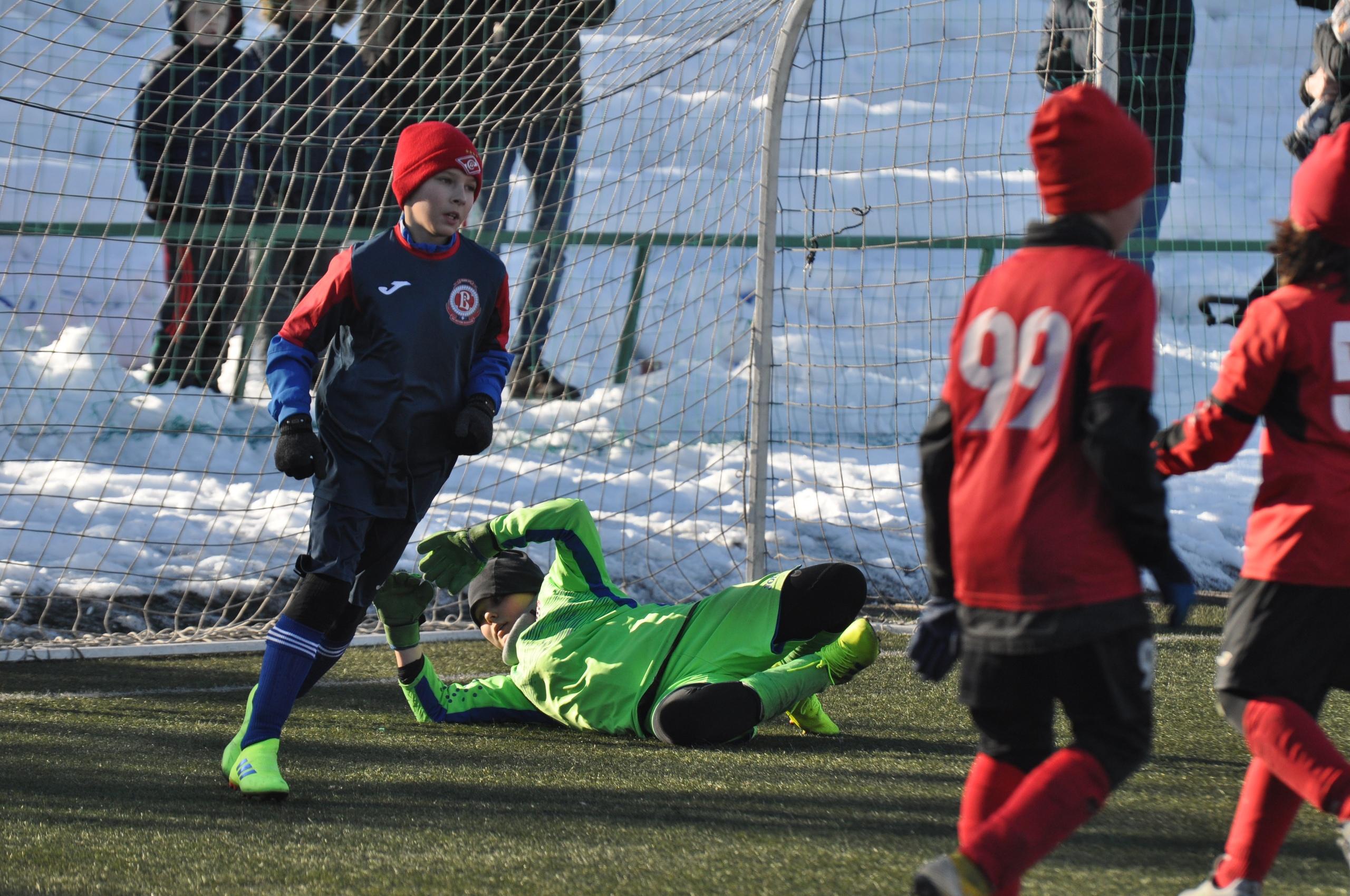 Футбольная школа «Витязь» заняла третье место в Зимнем Первенстве Москвы среди Первой лиги