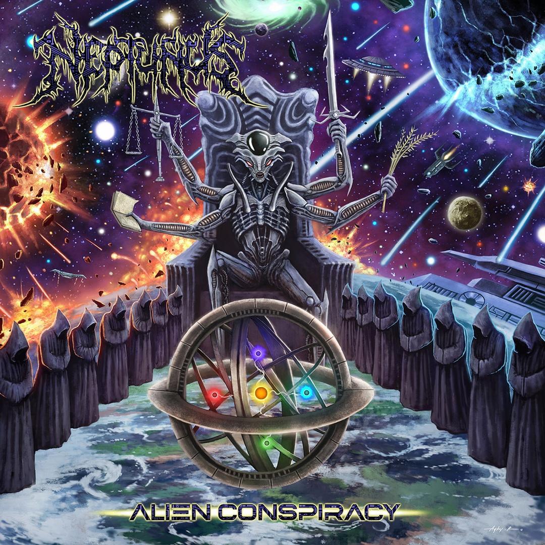Neptunus - Alien Conspiracy [EP] (2018)