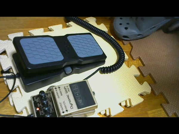 M-AUDIO Ex-P expression pedal BOSS AW-3 Dynamic Wah