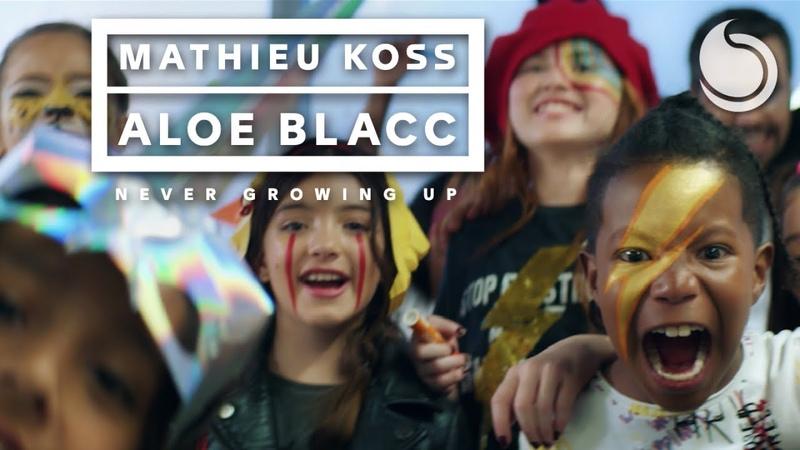 Mathieu Koss Aloe Blacc - Never Growing Up (Official Music Video)