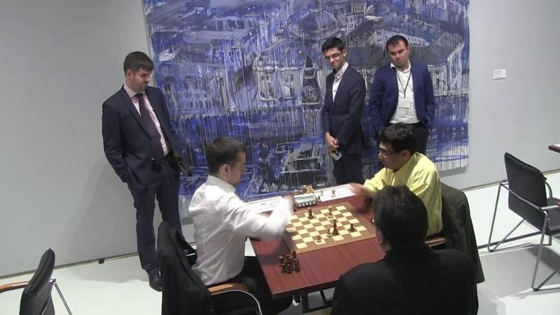 GM Nepomniachtchi - GM Anand ENDGAME