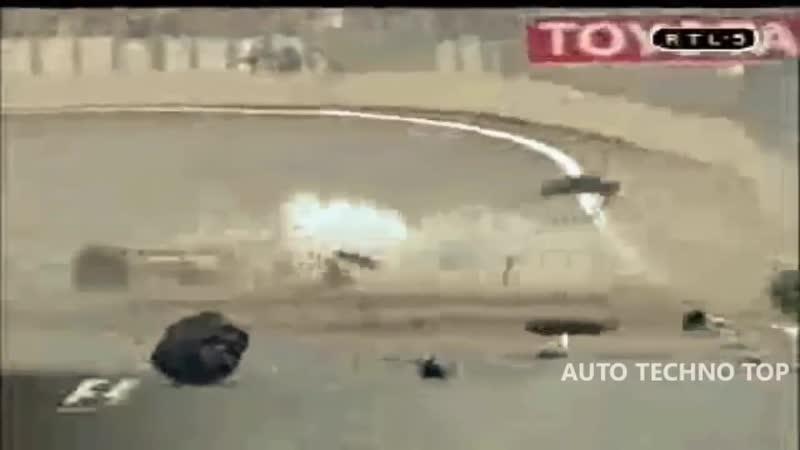 Подборка аварий на гонках самые жестокие и зрелищные автокатастрофы