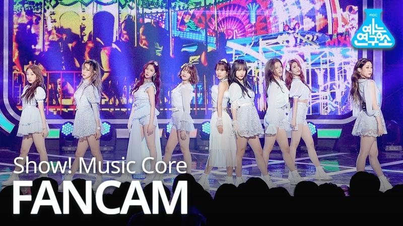 [예능연구소 직캠] WJSN - La La Love, 우주소녀 - La La Love @Show Music core 20190119