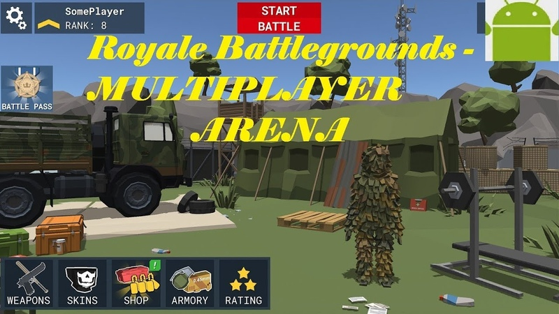 Royale Battlegrounds - MULTIPLAYER ARENA - New Game for Android