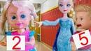 ЭЛЬЗА ЗАМОРОЗИЛА ДВОЕЧНИКОВ! Мультик с куклами Барби, школа