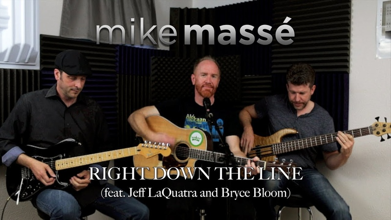 Right Down the Line (Gerry Rafferty cover) - Mike Massé, Jeff LaQuatra and Bryce Bloom