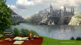 Beautiful day on Hogwarts Grounds - Great Lake Daytime Ambience - Harry Potter ASMR
