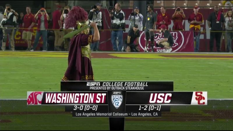 NCAAF 2018 / Week 04 / Washington State Cougars - USC Trojans / 2Н / EN