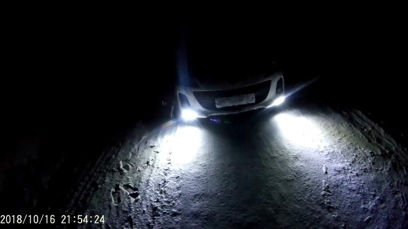 Головной свет фар с Aliexpress за копейки диодные LED огни ксенон галогеновый свет ходовые огни