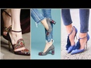 Stylish gorgeous latest footwear designer shoes coat shoes and sandles collection 2019