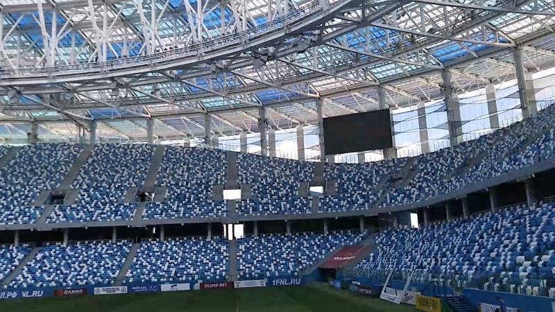 🌐 Ура Я на стадионе Нижний Новгород 👍👍👍