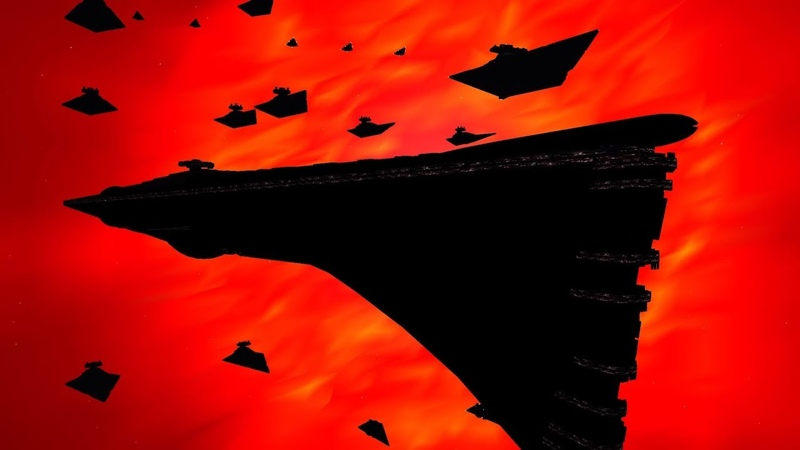 Star Wars: Warlords - Super Star Destroyers in action