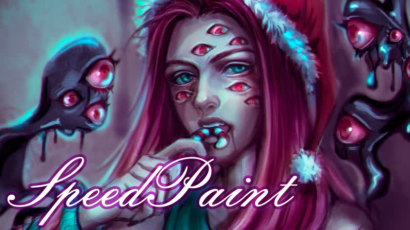 Christmas Ghost [SpeedPaint]