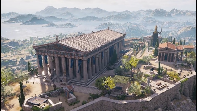 Assassin's Creed Odyssey: (Re)Building Athens