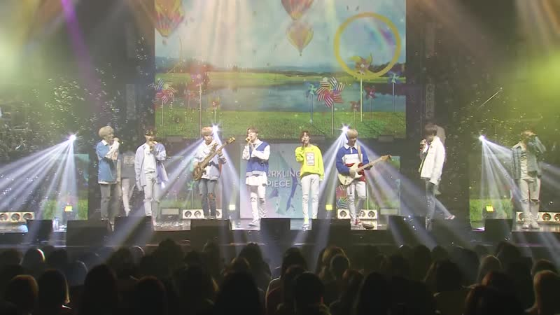 [Clip] RBW BOYZMAS - Spring Medley Stage @Sparkling Piece_180428