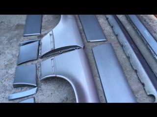 Крылья Mercedes w124 E500 Волчек