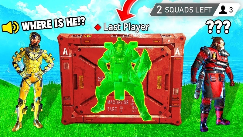 LAST PLAYER GLITCHED IN CRATE! (Apex Legends Funniest Moments 7)