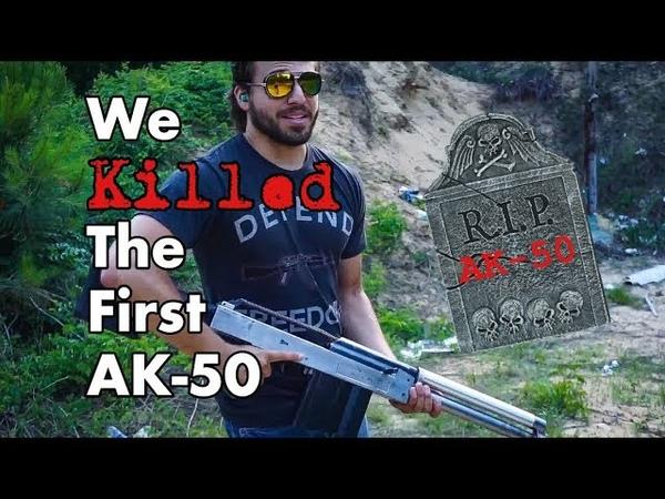 We Killed the First AK 50 Gun Life 27