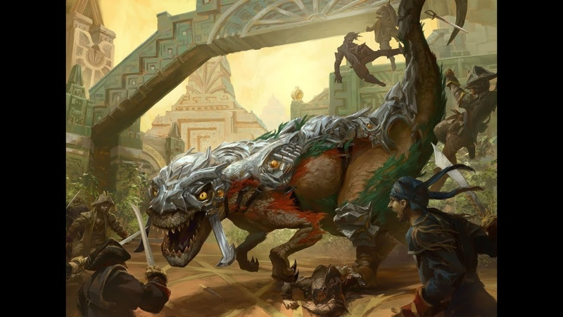 Dinos UNSEALED - Sarkhan's Unsealing in Dinosaur Tribal - MTG Arena Gameplay and Deck Guide