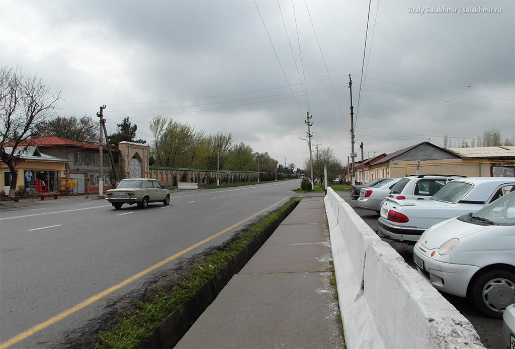 Остановка автобуса на границе Узбекистан 2019