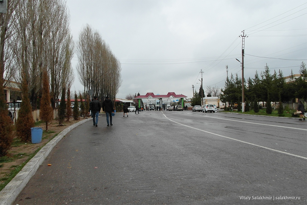 Граница Казахстан-Узбекистан 2019