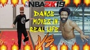 THE BEST NBA 2K19 DANCES IN REAL LIFE BILLY BOUNCE SHERRIE SILVER DAN RUE JOOKIN BACKPACK KID