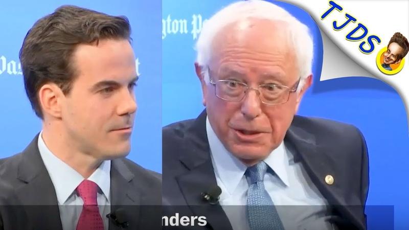 Bernie Humiliates Washington Post Journalist