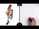 Proko Figure drawing fundamentals - 01 Gesture - Gesture Quicksketch - 30 Second Pose (3)