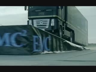 Jump a giant truck through a Formula 1 car l Origin - Apollo