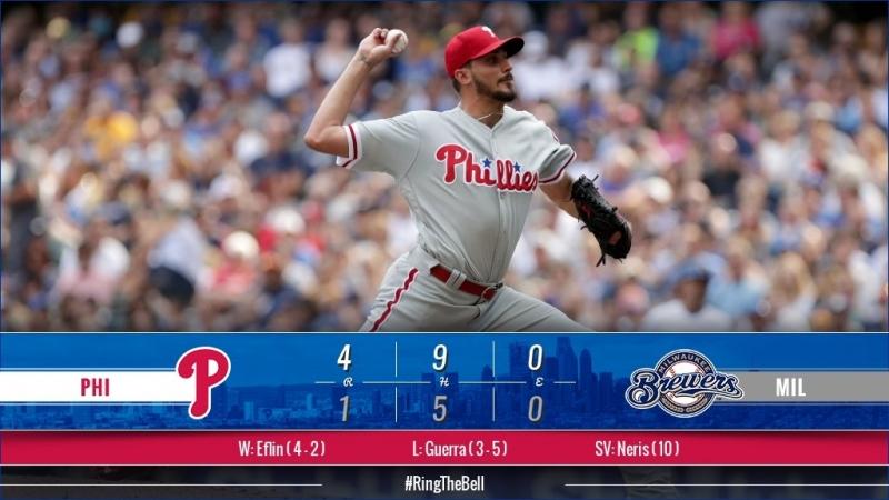 Game 68: PHI_4_MIL_1 © MLB.com