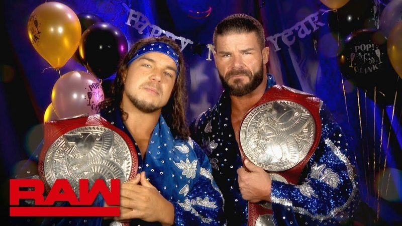 SB Group Bobby Roode Chad Gable look forward to a Glorious New Year Raw Dec 31 2018
