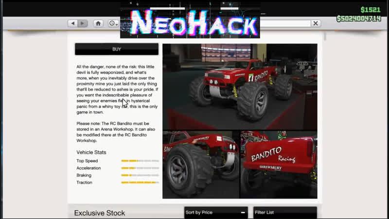 GTA Online Arena War заблокированная машинка RC BANDITO - покупка, прокачка, тест-драйв ARENAWARS GTAONLINE