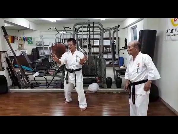 Wa uke Uechi ryu karate / Sensei Yamashiro Hirokuni 9 Dan Uechi ryu Okikukai