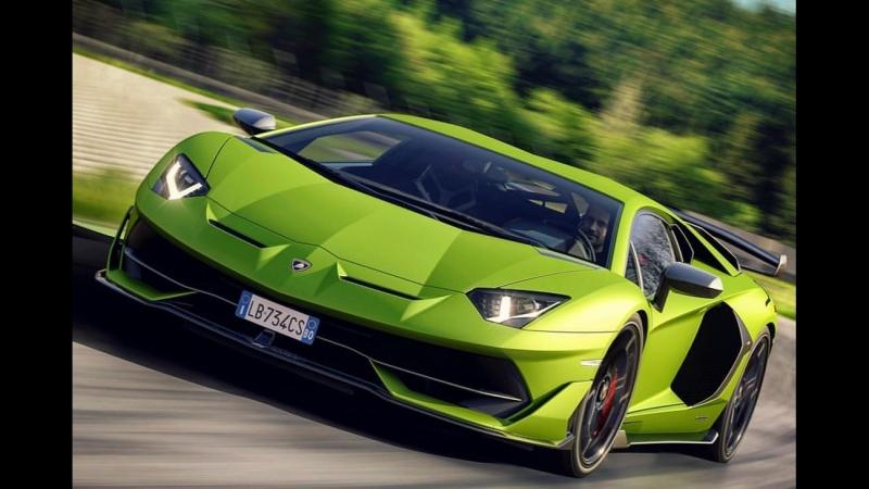 ⚡️🌪 Lamborghini Aventador SVJ