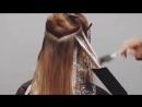 Окрашивание волос с планшетом лопаткой