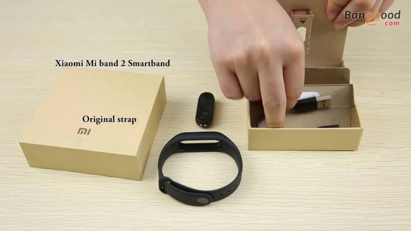 $14 off Coupon: miband27 Original Xiaomi Mi band Display Bluetooth Smart Wristband Bracelet