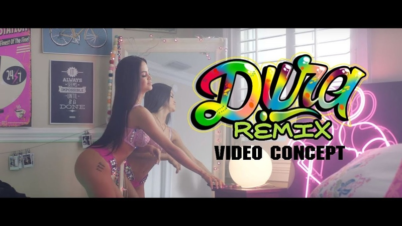 Dura Remix - Daddy Yankee Ft Bad Bunny Natti Natasha Becky G (Video Concept)