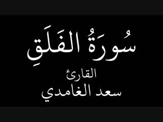 سورة الفلق سعد الغامدي ( 720 X 1280 ).mp4