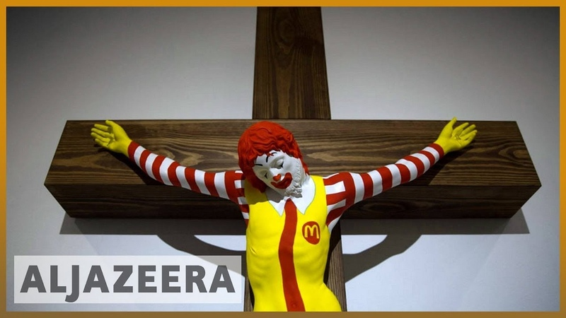 🇮🇱 'McJesus': Artwork in Israel upsets Arab Christians l Al Jazeera English