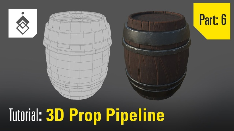 Tutorial 3D Prop Pipeline - Part 6 - Texturing in Substance Painter
