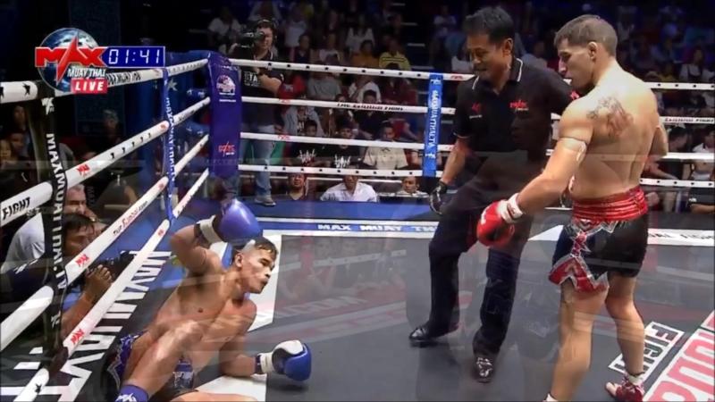 Will Bombardero Aranguiz on MAX Muay-Thai HL