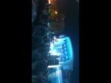 на концерте в Bora-Bora