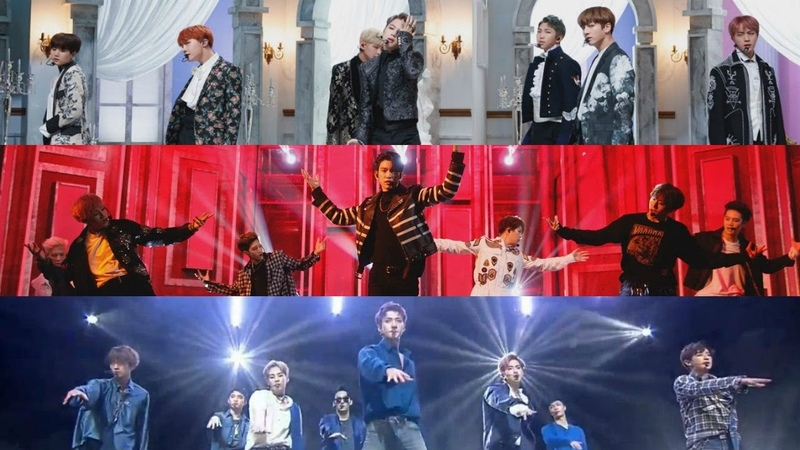 BTS GOT7 EXO Blood Sweat Tears Hard Carry Lotto Live Performances Ver Audio by RYUSERALOVER