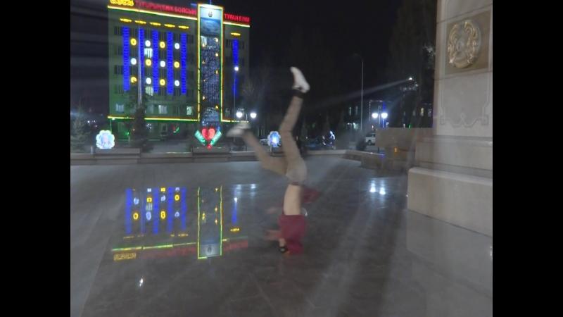 8 dance І Трэпчина№1. Призидентский парк и брейк данс (Талдыкорган) 2015