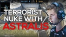 Astralis' Masterclass on Terrorist Nuke: Denying Information and Abusing Rotations