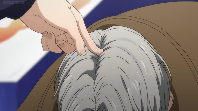 Yuri on Ice Episode 7 Skate and Kiss