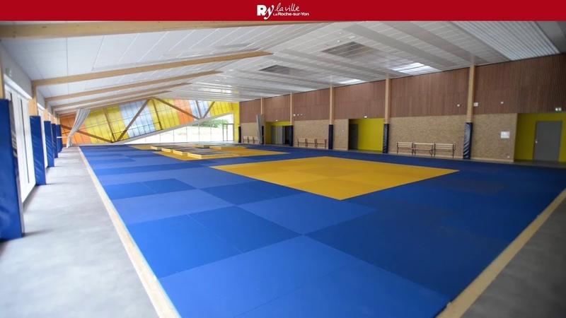 Nouvelle Salle des arts martiaux. Judo Club Yonnais