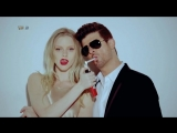Blurred Lines - Robin Thicke (Unrated Version) Full HD ню легкая эротика голые
