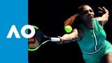 Serena Williams v Dayana Yastremska first set highlights (3R) Australian Open 2019