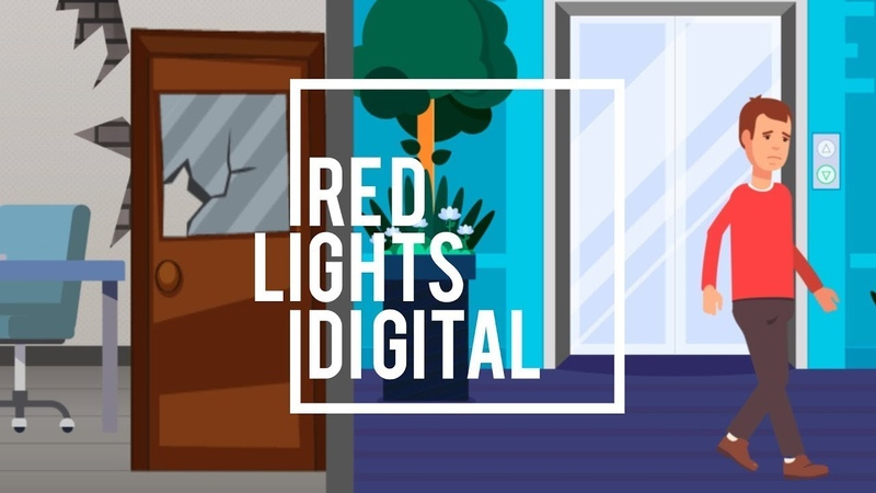 Анимационный ролик для портала База Мастеров | Ремонт квартир | By Red Lights Digital